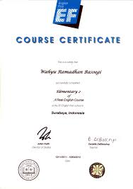 Where Can I Make A Free Resume Online by Ef English Course Certificate Resume Wahyu Ramadhan