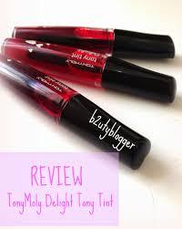 toni moli review tonymoly delight tony tint with lip swatches b2uty