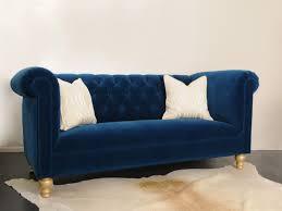 furnitures navy blue velvet sofa luxury navy blue sofas