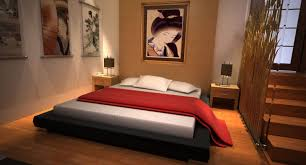 creative japanese bedroom design with additional home remodeling