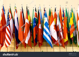 Flags Of Nations Colorful Flags Variety Nations Stock Photo 37719454 Shutterstock