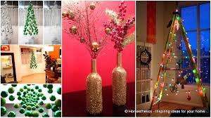 Easy Christmas Decorations To Make At Home 43 Super Smart And Inexpensive Affordable Diy Christmas