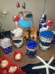 Fishing Themed Baby Shower - sailor baby shower decorations choice image handycraft