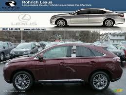 lexus rx 450h interior 2013 claret red mica lexus rx 450h awd 75787618 gtcarlot com