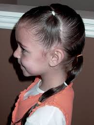 ponytail hairstyles little girls hairstyles how to do a zig zag