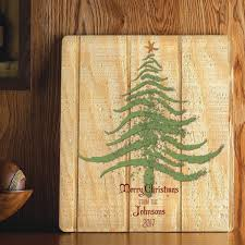 Personalized Wood Signs Home Decor Personalized Christmas Wood Sign Home Decor