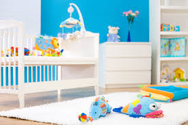 contemporary baby boy room ideas interior decors with blue wall
