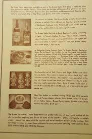 vtg 1949 the brown derby restaurant menu hollywood california