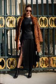 Hochsteckfrisurenen Vogue by Style Ece Sukan Milan Fashion Week Style