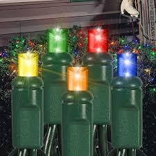led net lights multi color 105 led multi color wide angle bulbs net lights