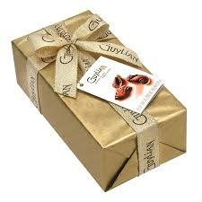 in gift sea shells original praliné gift wrapped ballotin 250g guylian