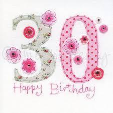 30th birthday cards 30th greeting card thirtieth birthday card