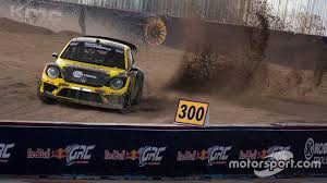 volkswagen phoenix tanner foust sweeps red bull global rallycross phoenix