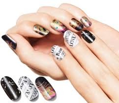 avon nail art design strips fall 2014 limited edition designs