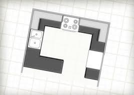 G Shaped Kitchen Floor Plans Work Triangle U0026 Kitchen Layouts Plan Your Space Merillat