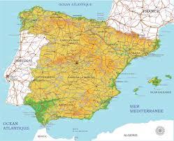 Salamanca Spain Map by Full Spain Printable Vector Map Adm Phys Full Editable Corel