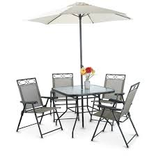 Patio Set 6 Chairs by Deluxe Outdoor Patio Dining Set 6 Piece 617279 Patio Furniture