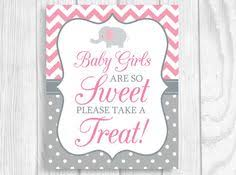 Baby Shower Candy Buffet Sign by Printable Baby Girls Are So Sweet Please Take A Treat 8x10 Giraffe