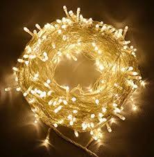 Amazon Uk Outdoor Christmas Decorations by 30 Meter Warm White 300 Led Outdoor U0026 Indoor Battery Fairy Lights