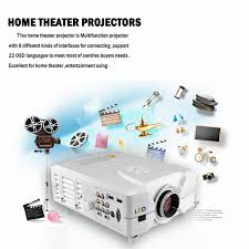 home theater projector 1080p new excelvan cl312 led 3d projector home theater multimedia