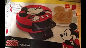Household Mickey Mouse waffle maker Disneyoid