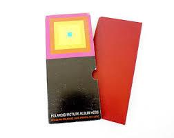 Leather Picture Album Polaroid Album Etsy