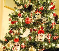 peachy cheek decorating and sugar skull ornaments