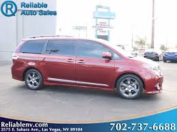 are toyota siennas reliable used 2016 toyota se in las vegas