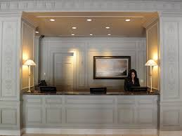 Rounded Reception Desk by Home Design Modern Hotel Reception Desk Specialty Contractors