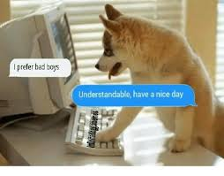 Have A Nice Day Meme - i prefer bad boys understandable have a nice day know your meme