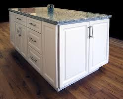 wood kitchen cabinets with white island newport white island builders surplus
