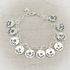 name charm bracelet name charm bracelet with sterling silver tracy tayan designs