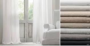 Black Linen Curtains Window Drapery Rh