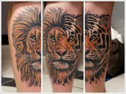 tiger forearm tattoo designs download lion tattoo knee danielhuscroft com