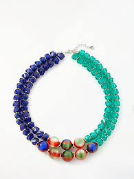 blue bead necklace images Beaded women 39 s necklaces john lewis partners