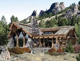 large log home floor plans caribou log home floor plan by precision craft