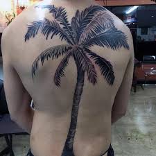 black palm tree tattoos on whole back photos pictures and