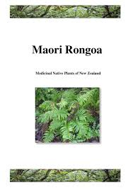 native plants new zealand maori rongoa by stuart campbell issuu