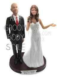 bald groom cake topper custom singing and groom cake topper