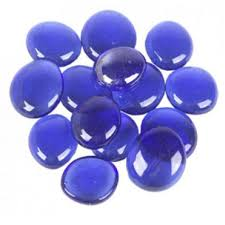 glass vase gems cobalt blue bulk ggm001blu cobalt blue glass