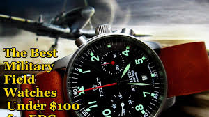 Most Rugged Watch The Best Edc Military Field Watches Under 100 Youtube