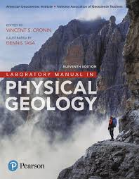 laboratory manual in physical geology 9780134446608