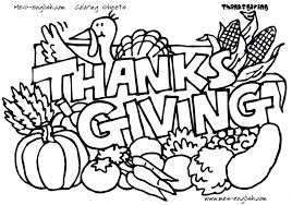 free thanksgiving coloring pages for kindergarten page