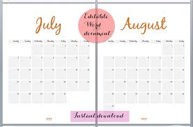 printable calendar templates free september 2017 printable