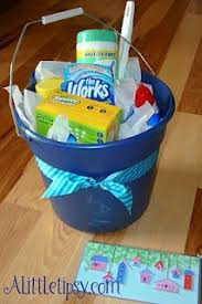 house warming wedding gift idea another housewarming idea but with a bucket gift ideas dyi or