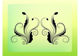 floral ornament vector free vector stock graphics