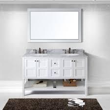 virtu usa ed 30060 wmro wh winterfell 60 in bathroom vanity set