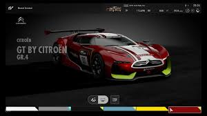 citroen supercar citroën gt by citroën gr 4 gran turismo sport car list