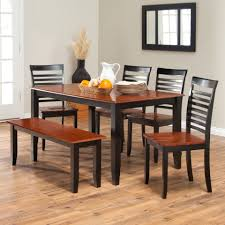 kitchen magnificent dining set with bench table and chairs round