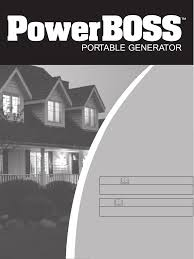 briggs u0026 stratton portable generator 030249 user guide